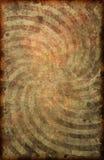 Fondo del cartel del modelo del remolino del papel del vintage del Grunge Imagenes de archivo