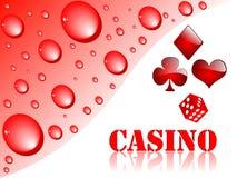 Fondo del casino Stock de ilustración