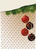 Fondo del casino de la Feliz Navidad y del Año Nuevo Imagenes de archivo