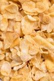 Fondo del cereal de los copos de maíz Imagen de archivo libre de regalías