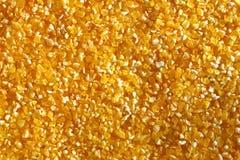 Fondo del cereale scheggiato giallo fotografie stock