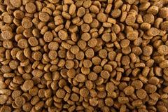 Fondo del cibo per cani Fotografia Stock