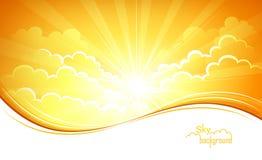 Fondo del cielo Immagini Stock Libere da Diritti