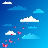 Fondo del cielo ilustración del vector