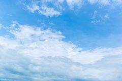 Fondo del cielo azul Imagen de archivo