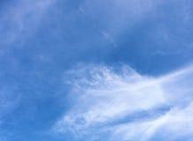 Fondo del cielo azul Foto de archivo
