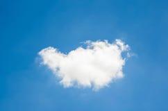 Fondo del cielo azul y de las nubes Foto de archivo libre de regalías