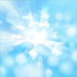 Fondo del cielo azul y de los círculos Imágenes de archivo libres de regalías