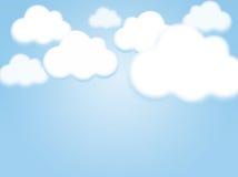 Fondo del cielo con el espacio de la copia stock de ilustración