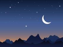 Fondo del cielo del amanecer libre illustration