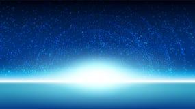 Fondo del cielo del espacio Foto de archivo