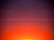 Fondo del cielo del extracto de la puesta del sol de la salida del sol, colores Foto de archivo