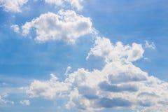 Fondo del cielo del verano Imagen de archivo