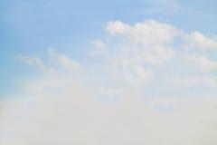 Fondo del cielo del verano Imagen de archivo libre de regalías