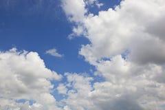 Fondo del cielo di estate Immagini Stock Libere da Diritti