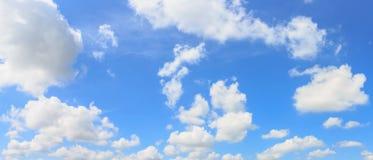 Fondo del cielo e della nuvola di panorama Fotografia Stock