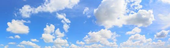 Fondo del cielo e della nuvola di panorama Immagine Stock Libera da Diritti