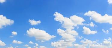 Fondo del cielo e della nuvola di panorama Fotografia Stock Libera da Diritti