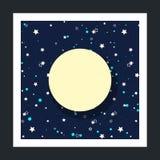 Fondo del cielo estrellado Foto de archivo