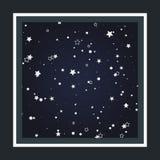 Fondo del cielo estrellado Fotos de archivo