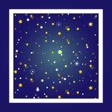 Fondo del cielo estrellado Imagen de archivo libre de regalías