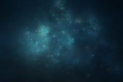 Fondo del cielo nocturno stock de ilustración