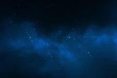 Fondo del cielo notturno Fotografia Stock Libera da Diritti