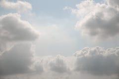 Fondo del cielo nublado Fotografía de archivo libre de regalías