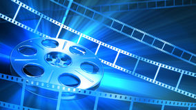Fondo del cine Foto de archivo libre de regalías