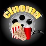 Fondo del cine Imágenes de archivo libres de regalías