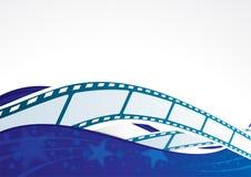 Fondo del cine Fotografía de archivo libre de regalías