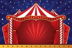 Fondo del circo Foto de archivo libre de regalías