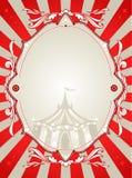 Fondo del circo de la vendimia Foto de archivo
