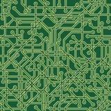 Fondo del circuito ilustración del vector