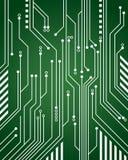 Fondo del circuito de ordenador stock de ilustración