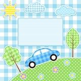 Fondo del coche Foto de archivo libre de regalías