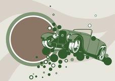 Fondo del coche de los Oldies Imagen de archivo