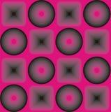 Fondo del color de rosa del estilo de Emo stock de ilustración