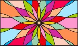 Fondo del color del caleidoscopio Imágenes de archivo libres de regalías