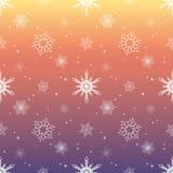 Fondo del color del cielo de la rosa del rosa de la capa del tinte del modelo del copo de nieve Fotos de archivo libres de regalías