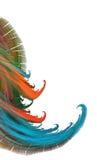 Fondo del color del fractal Fotografía de archivo libre de regalías