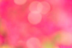 Fondo del color del rosa de Bokeh fotografía de archivo libre de regalías