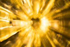 Fondo del color oro Imagenes de archivo