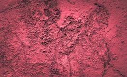 Fondo del color rojo del cemento de la pared del cemento Fotos de archivo libres de regalías