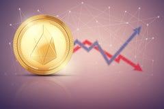 Fondo del comercio del intercambio del FOE ilustración del vector