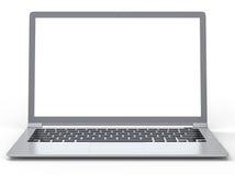 fondo del computer portatile 3D Fotografia Stock Libera da Diritti