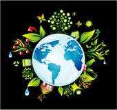 Fondo del concepto de Environmetal Fotografía de archivo libre de regalías