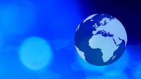 Fondo del concepto de Internet del negocio global medios ilustración del vector