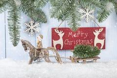 Fondo del concepto de la Feliz Navidad Imagen de archivo