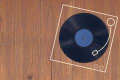 Fondo del concepto de la música Fotografía de archivo